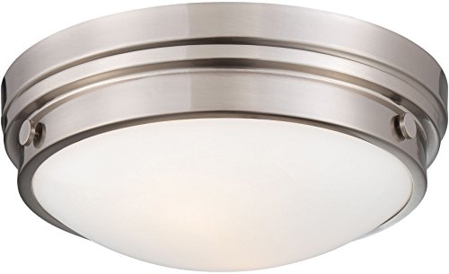Minka Lavery Flush Mount Ceiling Light Round 823-84 2LT 120w (5