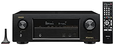 Denon AVR-X1300W Channel Full 4K Ultra HD AV Receiver with Bluetooth