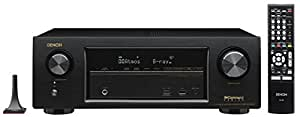 Denon AVR-X1300W 7.2 Channel Full 4K Ultra HD AV Receiver with Bluetooth