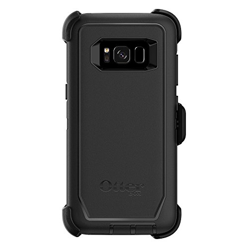 OtterBox Defender Series Case & Holster for Samsung Galaxy S8 (Screen Protector NOT Included) - Black (Certified Refurbished)