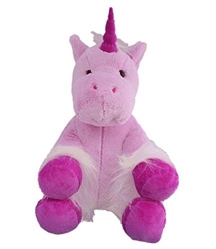 The Bear Factory Personalized Long Message Recordable 15 Inch Mystical Unicorn with 30 seconds of Recording Time