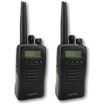 KENWOOD TK3140 UHF WATT WALKIE-TALKIE TWO WAY RADIOS SHAPE EARPIECES