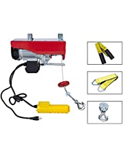 OPENROAD 1320 LBS Lift Electric Hoist, 110V Ceiling Hoist, Remote Control Electric Winch Overhead Crane Lift Electric Wire Hoist for Factories, Warehouses, Construction, Building, Goods Lifting