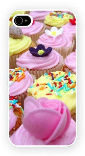 Cup Cakes Art Design, iPhone 4 4S, Etui de téléphone mobile - encre brillant impression