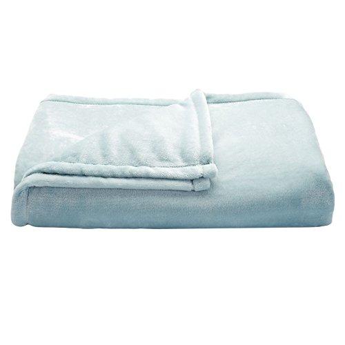 """The Big One Oversized MicroPlush Fleece Throw Blanket 60"""" x"""