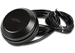 AntennasPlus AP-CG-M-S22-BL Hockey Puck LTE Cell, PCS, GPS, Black, Magnet Mount Antenna