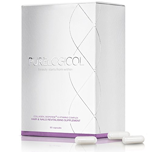 Purelogicol Hair & Nails Revitalising Supplement - 90 Caps by PureLogicol International Ltd
