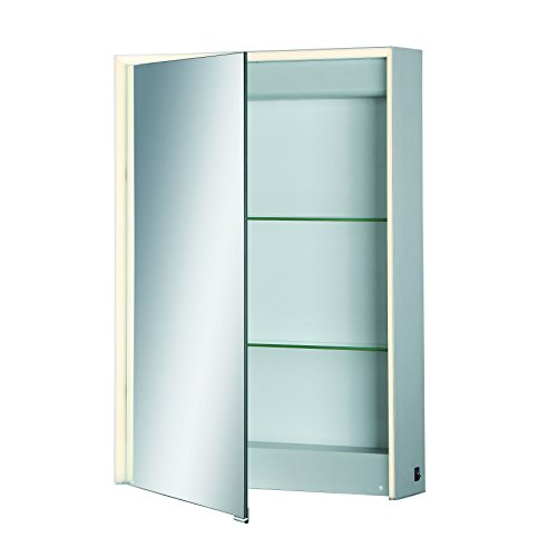 Eurofase 31484-015 Mirror Cabinet Edge-Lit LED Single Door, 28 Inches High by 20 Inches Wide-Model by Eurofase
