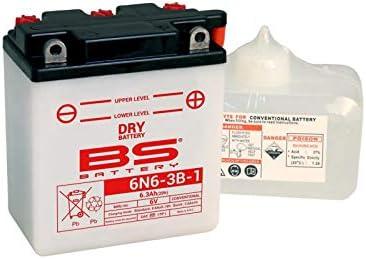 Batterie BS BATTERY 6N6-3B conventionnelle livr/ée avec pack acide