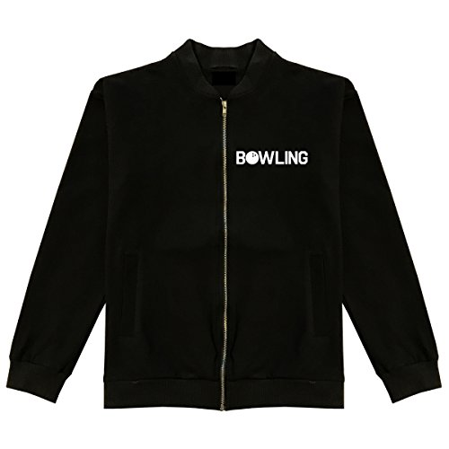 Bowling Bomber Jacket Medium - King Jacket Strike