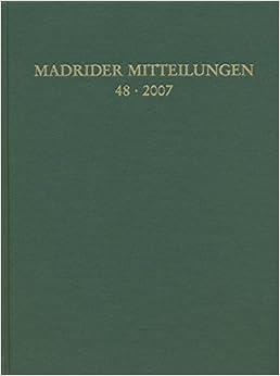 Book Madrider Mitteilungen: 48