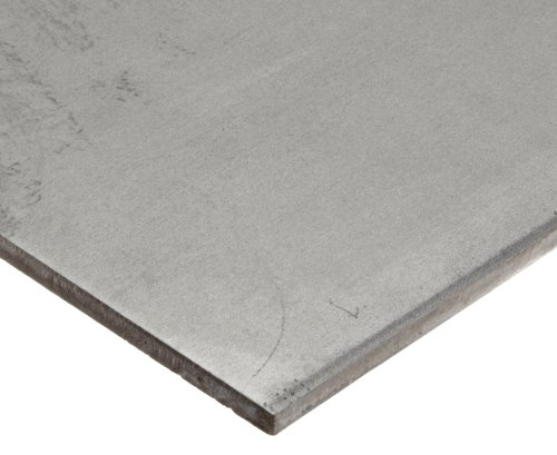 (316 Stainless Steel Sheet, Unpolished (Mill) Finish, Annealed/Hot Rolled, ASTM A240, 0.1875