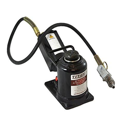 Image of AME 14461 Titan 20-Ton Air/Hydraulic Bottle Jack Bottle Jacks