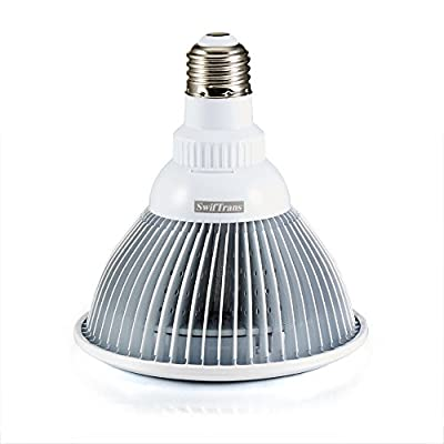 LED Grow Light bulb, Swiftrans 24W Full Spectrum High Efficient Hydroponic Plant Grow Lights for Garden Greenhouse and Hydroponic Aquatic