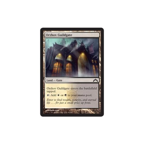 Magic The Gathering Orzhov Guildgate 244 Gatecrash Amazon In Toys Games Detailed information about mechanics, colors, visual mana curve of the deck. amazon in