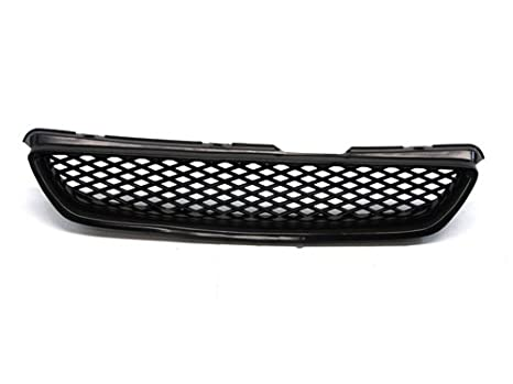 98 02 Honda Accord Coupe ONLY Type R Style Front Grille Black Mesh 99