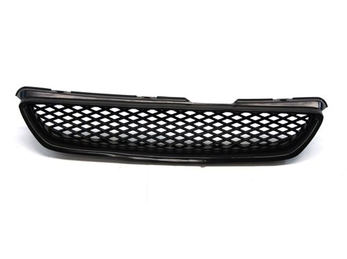 98-02 Honda Accord Coupe ONLY Type-R Style Front Grille Black Mesh 99 00 01