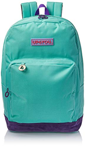Mochila Escolar G com 1 Bolso, Up4you, Luxcel, MS45746UP-0100, Verde