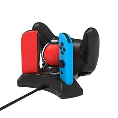 Amazon.com: BestFire Controller Charger 4 in 1 Nintendo ...