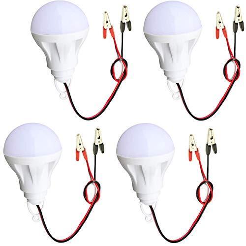 Captain LED 5-Watts LED White Bulb, Pack of 4