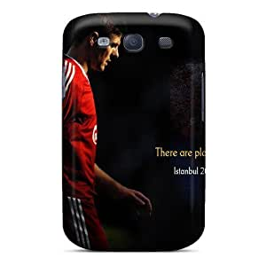 Galaxy S3 Liverpool Famous Fc Of England Print High Quality Tpu Gel Frame Case Cover