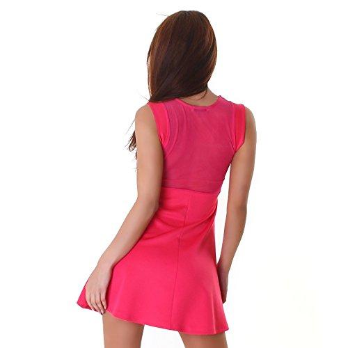 Cocktailkleid rosa pink