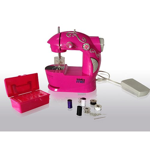 totally me pink bling sewing machine and kit buy online
