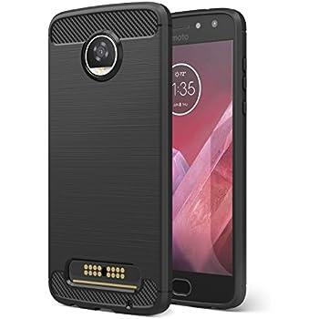 Amazon.com: SENON Moto Z2 Play Case, Slim-fit Shockproof ...