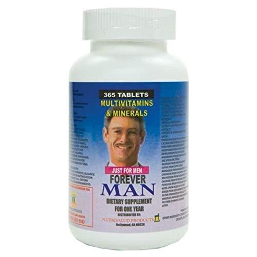 Forever Man Multivitaminas para hombre. 365 Tabletas para todo un año. Combaten cansancio y