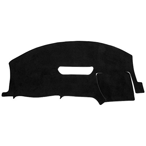 Hex Autoparts Dash Cover Mat Dashboard Pad for 1997-2002 Chevy Camaro (Black)