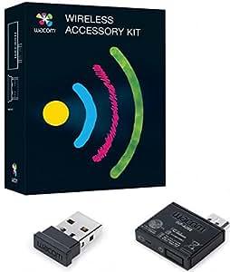 Wacom ACK-40401-S - Kit inalámbrico, Negro
