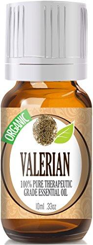 Valerian (organique) 100% Pure, Meilleur thérapeutique année Huile Essentielle - 10ml