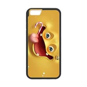 funny sponge bob 13140893 iPhone 6 4.7 Inch Cell Phone Case Black Customized Items zhz9ke_7317708