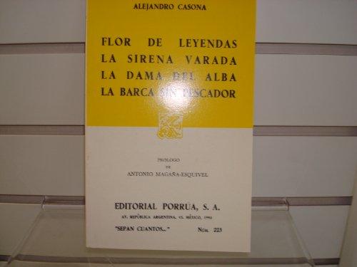 Flor de Leyendas, la Sirena Varada: La Dama de Alba, la Barca