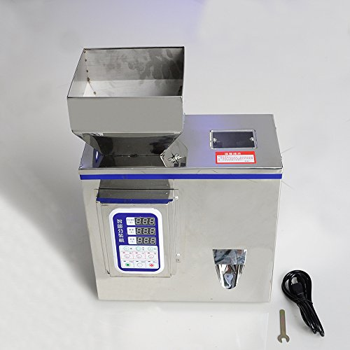 Wotefusi Industrial New 110V 150W 2g-99.9g Accuracy 0.2 Food Weighing Loading Filling Packing Machine Supplies For Tea Medicinal Herbs Seeds Spices Salt Monosodium Glutamate Sesame Beans Rice ect (Industrial Tea Machine)