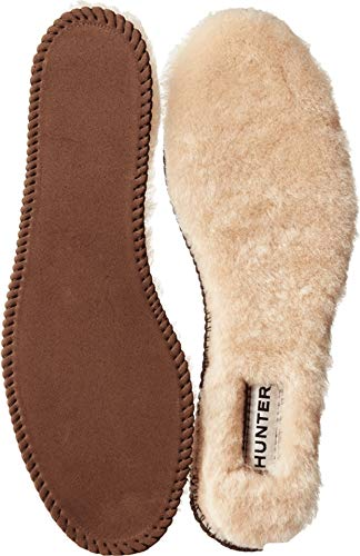 Hunter Women's Luxury Shearling Insoles Natural Boot (Fur Inserts For Boots)