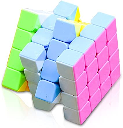 Stylezit 4X4 Stickerless Speed Cube Puzzle (Multicolour)