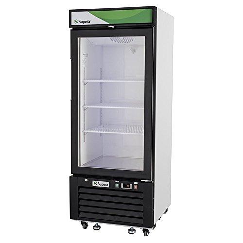 Dessert Merchandiser (Supera G1M-12-W-1 Glass Door Merchandiser, 25