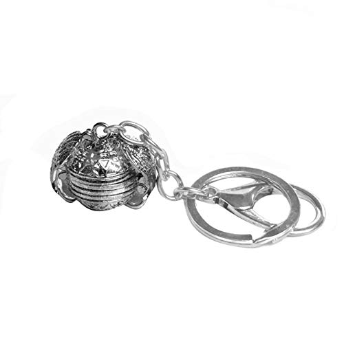 dSNAPoutof Angel Wings Expanding 4 Photo Locket Ball Necklace DIY Handmade for Women Girlfrien Antique Silver Necklace