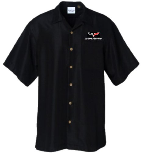 corvette-c6-logo-chevy-car-camp-hawaiian-club-shirt-by-david-carey-xl-black