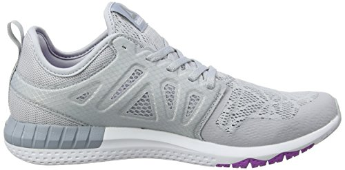 cloud 3d Running Chaussures Grey Gris vicious Femme Violet De white meteor Grey Reebok Zprint pewter 0H5IxqnR