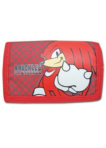 Great Eastern Entertainment Sonic The Hedgehog Knuckles Wallet ()