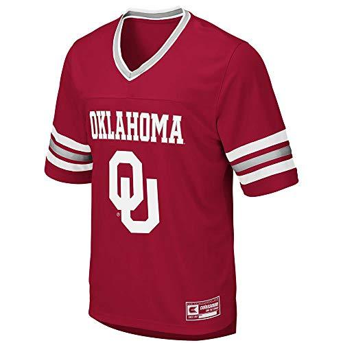 Colosseum Mens Oklahoma Sooners Football Jersey - XL College Football Mens Jersey