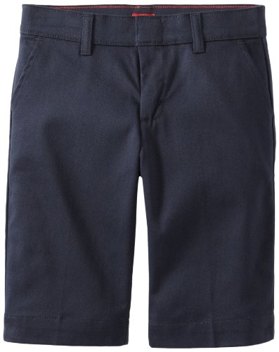 - Dickies Big Girls' Stretch Bermuda Short, Dark Navy, 12