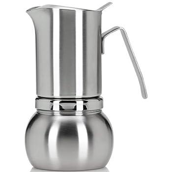 Amazon.com: Stella Inox satinata Inducción Estufa cafetera ...