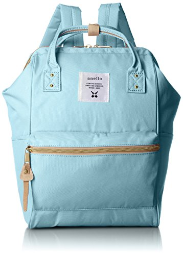 anello #AT-B0197B small backpack with side pockets Sax Blue by Anello