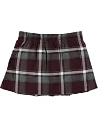 French Toast Little Girls' Plaid Pleated Scooter