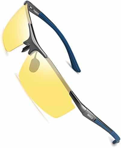 dbc32cab83 Soxick Night Driving Polarized Glasses for Men Women Anti Glare Rainy Safe  HD Night Vision HOT