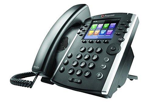 VVX 411 12-Line IP Phone Gigabit PoE (Renewed) ()
