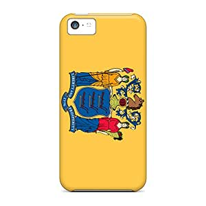 Iphone Case - Tpu Case Protective For Iphone 5c- New Jersey